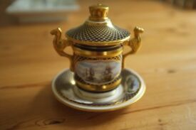 Spode Nelson Cabinet Cup and Stand