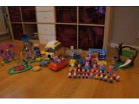 Huge Peppa Pig Toy Figures Collection