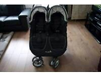 City mini baby jogger double pushchair baggy