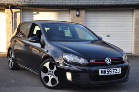 vw golf gti mk6 FSH Leather stage1 ADAPTIVE CHASIS not GTD r32 s3 a3 s line black edition mazda3 mps