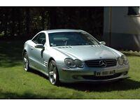 2004 Mercedes-Benz SL500 (Les Arcs, France, 83460) - partial conformity doc & plates, 71624 miles