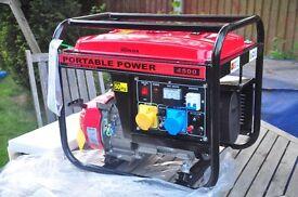 NEW Gasoline 6.5HP Petrol Generator 2.8 KVA DC Output 200CC Engine CT1900