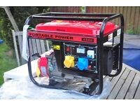 NEW Gasoline 6.5HP Petrol Generator 2.8 KVA DC Output 200CC Engine CT1900
