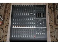 Yamaha N12 Digital mixer for DAW and PA 12 channel recording with Firewire