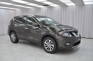 2014 Nissan Rogue 2.5SL AWD PURE DRIVE SUV w/ HTD LEATHER, NAV,