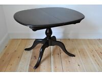 Vintage Retro 60's style Ercol Chester extending extendable dining table