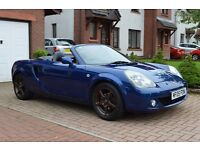 Toyota MR3 Mk2 Roadster - 2005 Heated Leather Seats