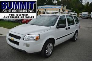 2009 Chevrolet Uplander with Roof Rack