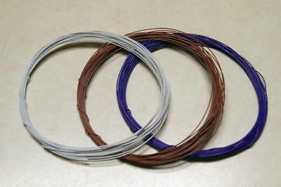 Usa Shipping - 3 X 20 Feet 30 Awg Wrapping Wire Chose From 10 Colors
