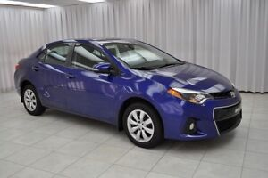 2014 Toyota Corolla SPORT 6SPD SEDAN w/ BLUETOOTH, HEATED SEATS,