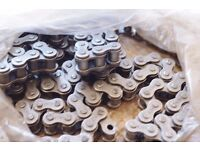 Heavy duty drive chain for motorcycle