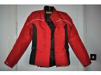 ladies biker jacket and trousers
