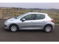 Peugeot 207 1.4 Active 5dr female owner very clean car silver