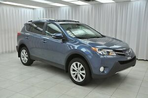 2014 Toyota RAV4 LIMITED AWD SUV w/ BLUETOOTH, HEATED LEATHER, D