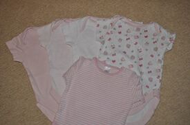 Baby girls vests from Next (3-6 months)