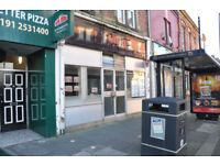 Shop lease with pizza shop licence for sale (with all equipment inside )