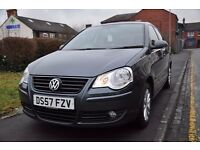VOLKSWAGEN POLO 1.2 S 5DR PETROL ( FULL SERVICE HISTORY)