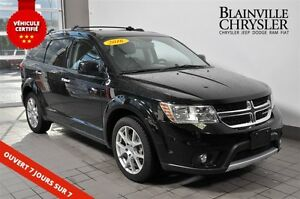 2016 Dodge Journey R/T - AWD - CUIR - 7 PASSAGERS