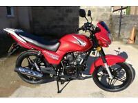 Brand New Lexmoto Hunter 50 50cc geared manual motorcycle motorbike