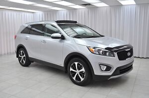 2017 Kia Sorento EX+ V6 AWD FE 7PASS SUV w/ HTD LEATHER, BLUETOO
