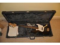 Fender jazz bass guitar (copy) and hard case £100