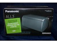 Panasonic Wireless Sepaker System, Black. SC-ALL-3EB-K. New in Box. RRP £270