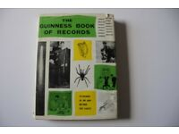 Vintage 1962 Edition Of The Guinness Book Of Records VGUC Original Hardback
