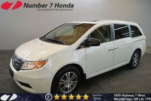 2013 Honda Odyssey EX-L| Leather, Backup Cam, DVD!