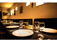 Waiting staff required for traditional Greek Restaurant in Bayswater W2
