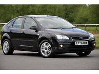 2006 Ford Focus 1.8 TDCi Ghia 5 DOORS+HATCHBACK+DIESEL+JUST SERVICED+11 MONTHS MOT