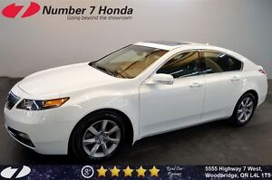 2012 Acura TL Tech Pack, Leather, Navi, Backup Cam!