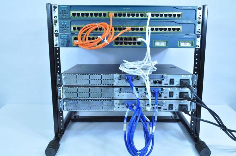 Complete CCNA & CCNP V2 Cisco Certified Network Professional Home Lab Kit