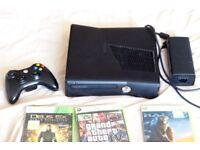 XBox 360 Plus 9 Games