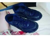Blue Air Max 90s