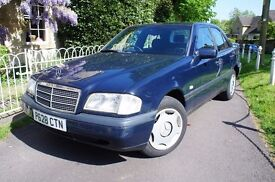 1997/P Mercedes C180 Classic Automatic , 96827 Miles with S/History , MOTd until May 2017