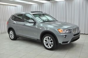 2013 BMW X3 28xi x-DRIVE AWD TURBO SUV w/ BLUETOOTH, HEATED LE