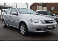 DAEWOO LACETTI 1.6 SX 5d 108 BHP 2 KEY PX TO CLEAR (silver) 2004