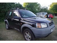 Freelander L series, reliable car with strong engine. Genuine selling reason.