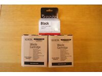 Xerox 6110/ 6110MFP black toner & two waste cartridges