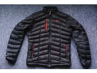 Sherpa Cho Oyu Down Insulated Jacket Black and Red Pertex Quantum Size Medium