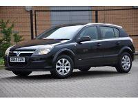 2004 Vauxhall Astra 1.6 i 16v Club 5 DOORS+HATCHBACK+1 FORMER KEEPER+BLACK+NEW SHAPE