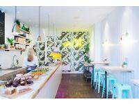 Barista / counter staff for speciality coffee shop & health deli