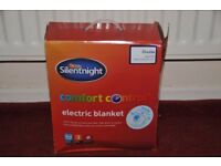 Silentnight double machine washable electric blanket, as new condition (never used), Thatcham Berks
