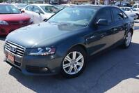2009 Audi A4 2.0T, Quattro, leather, sunroof