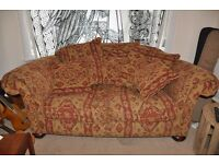 2 Seater Sofa - REDUCED PRICE - ethnic pattern