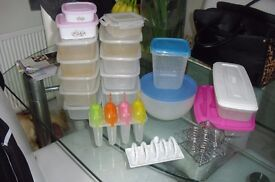 SELECTION OF KITCHEN ITEMS FOOD STORAGE BOX'S,EGG CUPS, TOAST RACK,LOLLY MAKERS