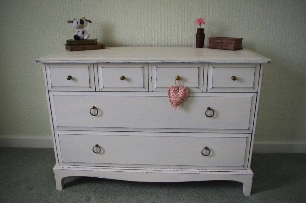 upcycled chest of drawers shabby chic distressed