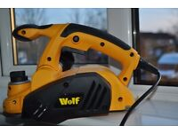 BRAND NEW, WOLF ELECTRIC REBATE PLANE X 3 BLADES, Reasonable Offers Accepted.