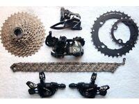 Sram X9 10x2 20 speed Mountain Bike Groupset x5 x7 x0 xx shimano slx xt deore