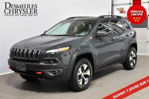 2017 Jeep Cherokee Trailhawk**ÉCRAN 8.4 POUCES**GPS**